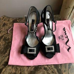 Nina peep toes evening heels